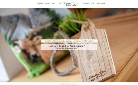 Fotograf Straubing | Webdesign | Landhote Mittermüller | Putzbrunn