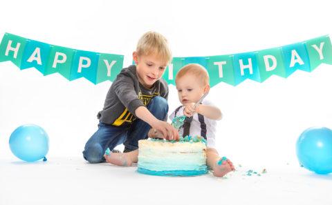 Cake Smash Shooting | Kinderfotograf | Fotograf Straubing | Fotostyle Schindler