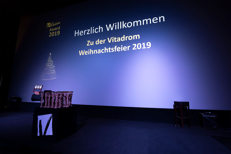 Businessfotograf- Vitadrom Weihnachtsfeier im Citydom, Straubing