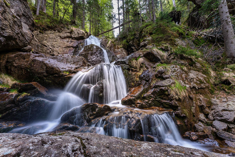 Rißlochwasserfall im Bayerischen Wald | Fotograf Straubing |Bilder auf Acryl, Forex, Leinwand u.v.m