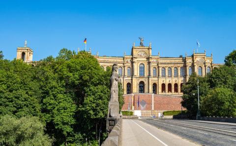 München - Bayerischer Landtag - Maximilianeum | Munich | Panorama