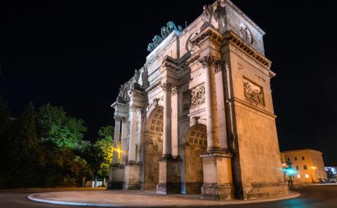 Siegestor, Triumphbogen in München | Munich | Bayern