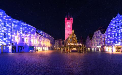 Landschaftsfotos | Fotograf Straubing| Stadtturm im Advent