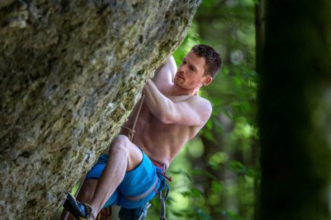 Sportfotografie |Klettern in der Oberpfalz bei Regensburg |Fotostyle Schindler